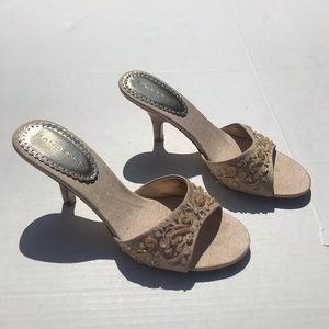 NWOT Bandolino Maeve Embellished Sandals